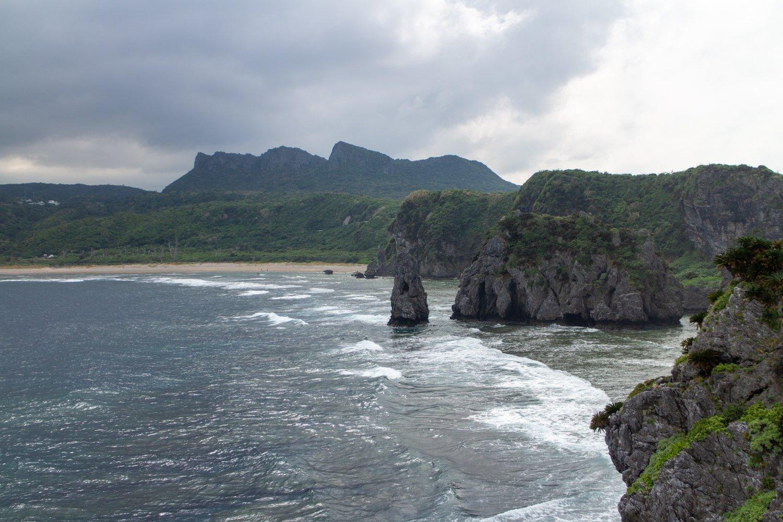 Kap Hedo ist der nördlichste und wildeste Punkt von Okinawa Honto.