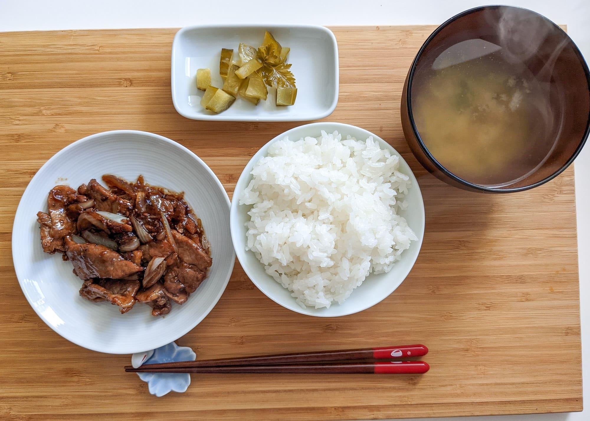 Rezept: Buta Shōgayaki – Schwein in Ingwersoße